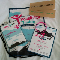 Girls Can Do, Possibility Thinker materials
