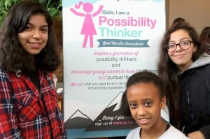 Rainier Scholars at the Seattle 2015 Girls Can Do event.