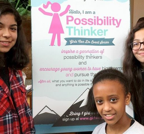 Rainier Scholars inspired at Girls Can Do!